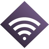 Icon of digital connectivity