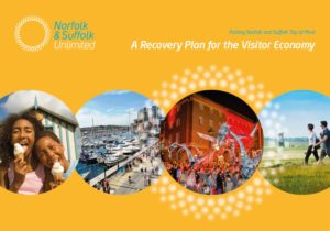 Visitor economy recovery plan front cover