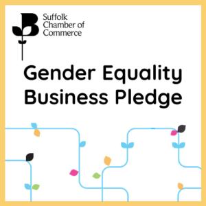 Gender Equality Business Pledge Logo