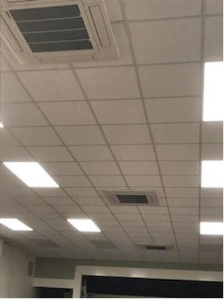 Ceiling air source